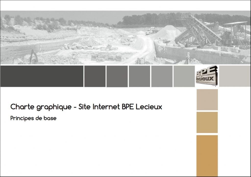 "alt= "" charte graphique BPE Lecieux - Lcom """