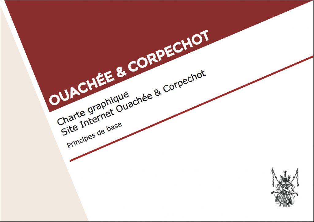 """alt= """" charte graphique Ouachée & Corpechot - Lcom """""""