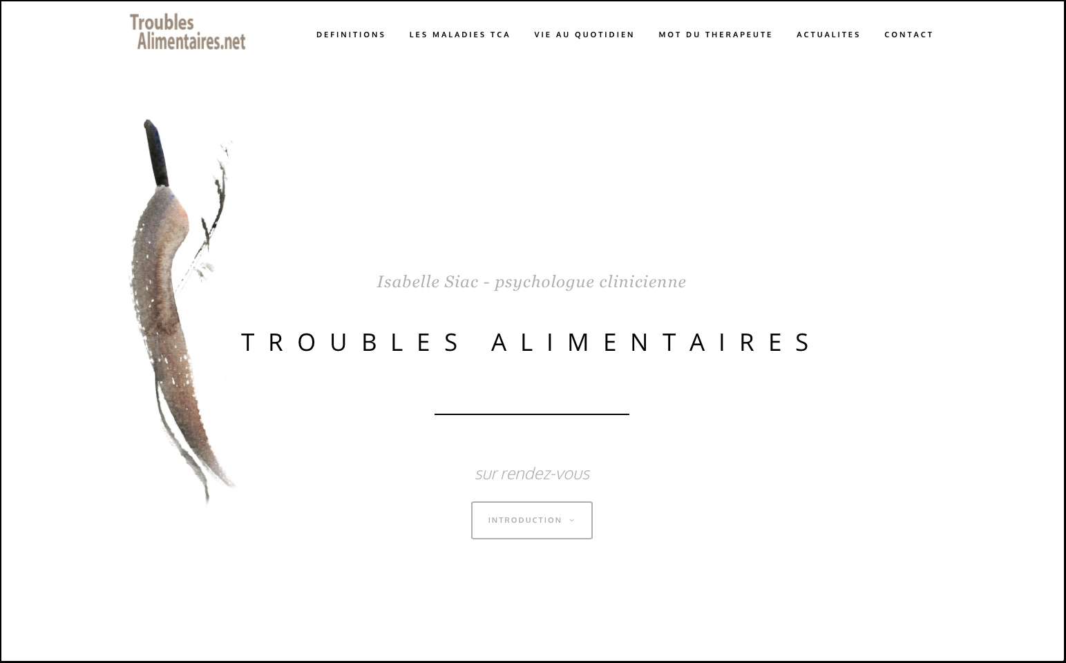"alt = "" Home du site Isabelle Siac - Lcom """