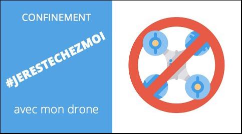 """alt = """" les vols de drone de loisirs interdits pendant le confinement """""""